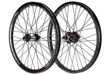 Paire de roue bmx race pride rival pro sx disc 36h noir
