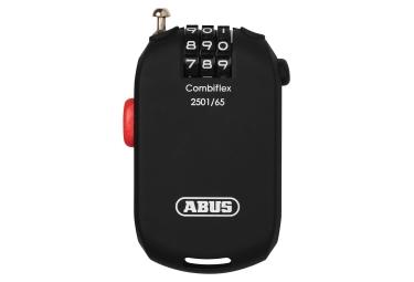 Abus Combiflex 2501 Cable Lock 65 Cm Negro