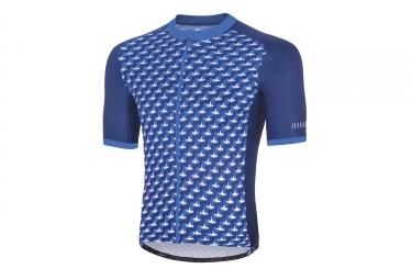 Maillot manches courtes zero rh passion bluette blue l