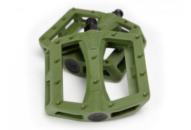 Cult Flat Pedals BMX Freestyle Dak - Olive Green