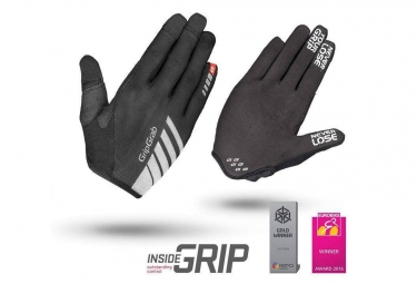 GripGrab Racing Long Gloves Black