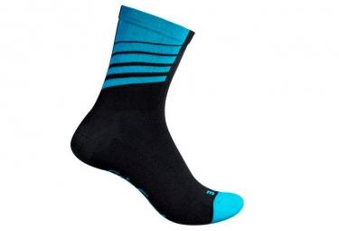 Calcetines GripGrab Racing Stripes - Bleu