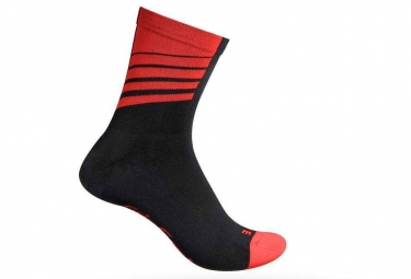 Calcetines Gripgrab Racing Stripes Red 38 41