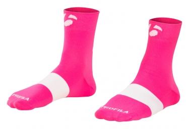 Bontrager Race 6cm Socks Vice Pink