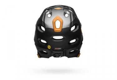 Casco Bell Super DH Mips con cinta de barbilla extraíble, oro negro mate
