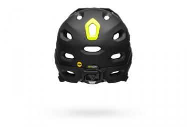 Casque avec Mentonnière Amovible Bell Super DH Mips Noir Mat Vert Fluo 2021