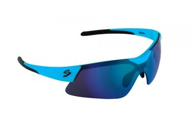 Paire de lunettes spiuk mamba bleu mat noir