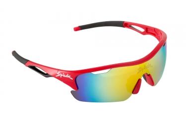 Paire de lunettes spiuk jifter rouge noir