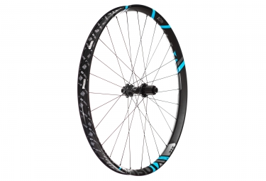 Roue arriere dt swiss xm 1501 spline 27 5 largeur 40mm boost 12x148mm 6 trous bleu