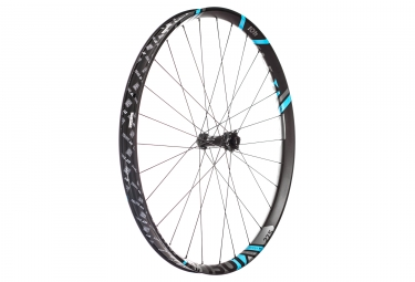 Roue avant dt swiss xm 1501 spline one 27 5 largeur 40mm boost 15x110mm 6 trous bleu