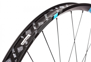 Roue Avant DT SWISS XM 1501 SPLINE ONE 27.5'' | Largeur 40mm | Boost 15x110mm | 6 Trous | Bleu