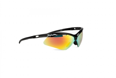 Gafas Spiuk Ventix black red Iridium / Miroir