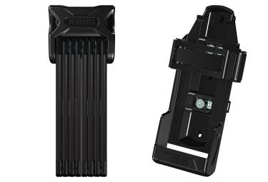 Abus 6000/120 SH Cerradura plegable 120 cm + Soporte SH Negro