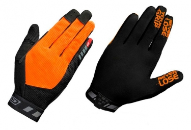 GripGrab Vertical Gloves - Noir / Orange