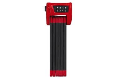 Antivol pliable abus 6100 90 st 90 cm rouge