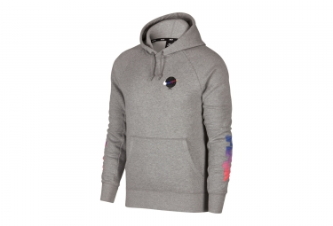 Nike SB Icon Pullover Hoodie Grey
