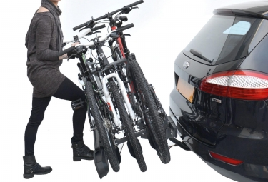 Porte-Vélo sur Boule d´Attelage Peruzzo Pure Instinct pour 3 Vélos