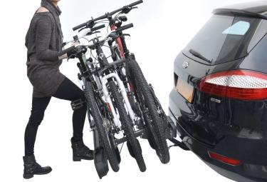 Porte-Vélo sur Boule d'Attelage Peruzzo Pure Instinct pour 3 Vélos