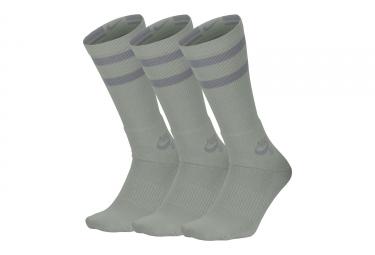 Nike SB Crew Socks Grey (3 Pairs)