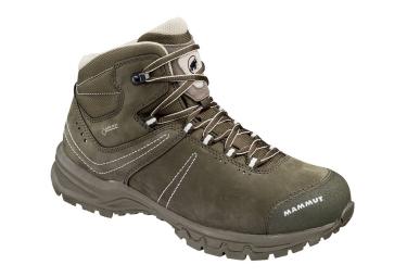 Chaussures de Randonnée Femme Mammut Nova Mid II GTX Kaki