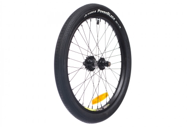 roue arriere bmx race gt speed serie pro noir pneu tioga chambre a air
