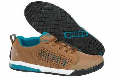 Paire de chaussures pour pedales plates ion raid amp beige 44