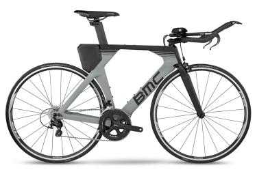 Vélo de Triathlon BMC Timemachine 02 Shimano 105 11V 2017 Noir / Gris
