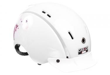 Casque enfant casco mini mini blanc rose 2018