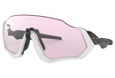 Paire de lunettes oakley flight jacket gris prizm low light ref oo9401 0337