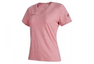 T-Shirt Femme Mammut Trovat Rose