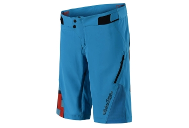 Short femme troy lee designs ruckus solid bleu s