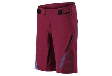 Short femme troy lee designs ruckus bordeaux s