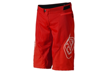 Short troy lee designs sprint solid rouge 32