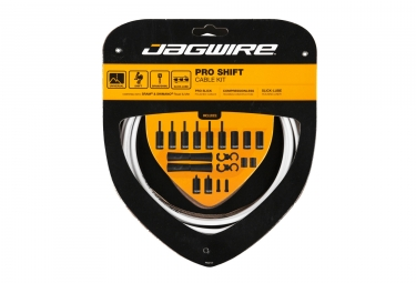 Jagwire Pro Shift Kit - White
