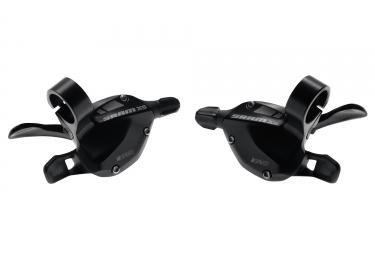 Cambiador de disparador SRAM X5 (3x9S) Negro