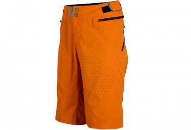 Royal impact shorts black orange l