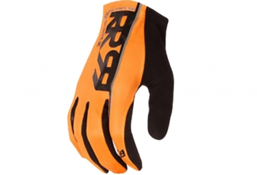 Paire de Gants Longs ROYAL Core Orange Noir