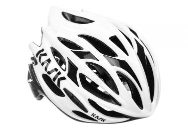Casque kask mojito blanc noir l 59 62 cm