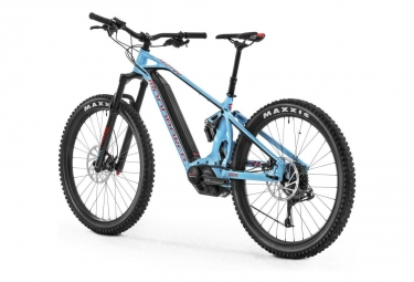 MTB Eléctrica Doble Suspensión Mondraker E-Crafty R+ 27.5'' Plus Bleu 2018