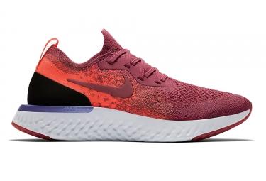 Nike Schuhe Epic React Flyknit Pink Orange Frauen