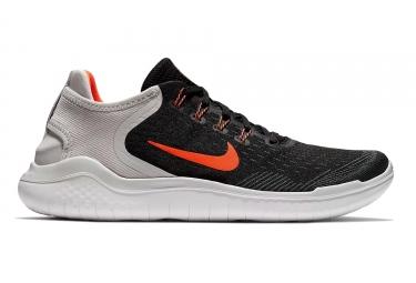 Nike free rn 2018 noir orange homme 41