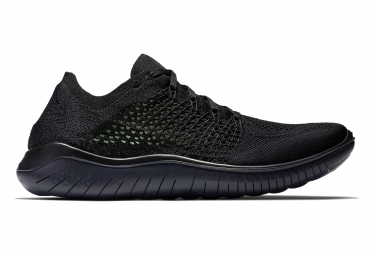 Zapatillas Nike Free RN Flyknit 2018 para Hombre Negro