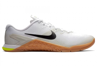 Chaussures de cross training nike metcon 4 blanc homme 44