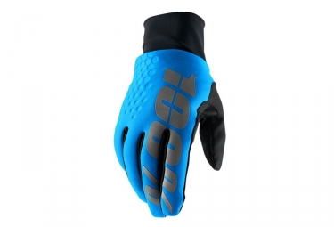 Paire de Gants Hiver 100% Hydromatic Brisker Bleu