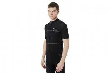maillot manches courtes oakley jawbreaker premium blackout s