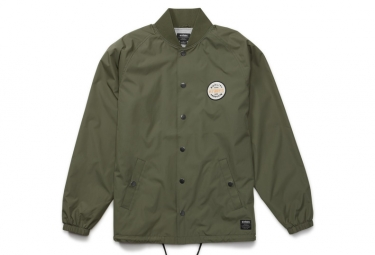 Etnies Lifestyle Jersey Walk Off Bomber Jacket Olive