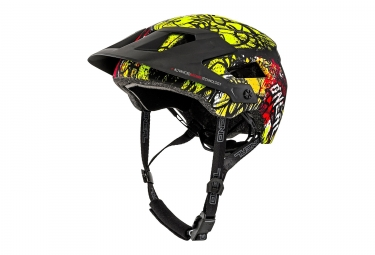 Casque All Moutnain O'NEAL Defender 2.0 Vaudal Noir Orange Jaune