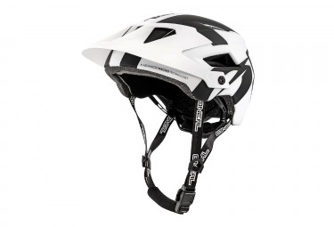 Casque all moutnain o neal defender 2 0 silver noir blanc s m 56 59 cm
