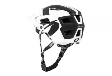 Casque All Moutnain O'NEAL Defender 2.0 Silver Noir Blanc