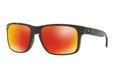 Oakley Holbrook Sunglasses Black - Prizm Ruby OO9102-F155